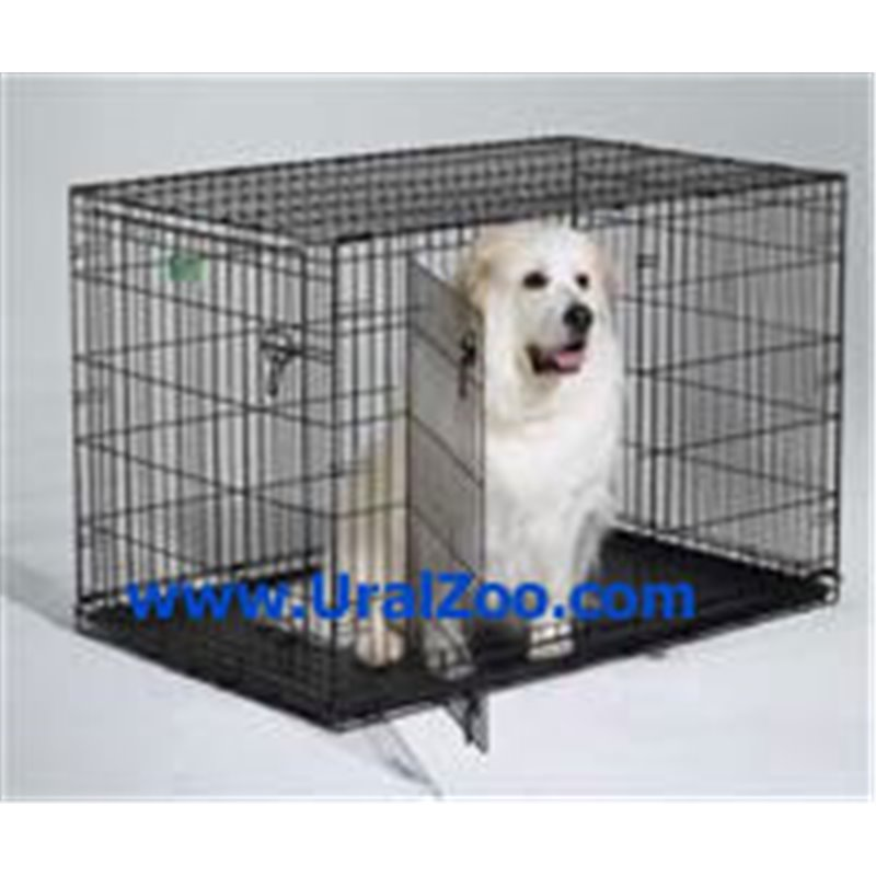 midwest icrate double door crate with divider for pets 5