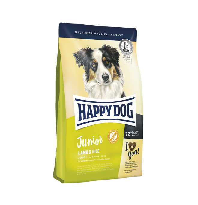 Happy Dog Supreme Junior Lamb & Rice